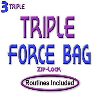 Triple Force Bag (Ziplock)