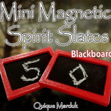 Mini MAGNETIC Spirit Slates  (Blackboard)